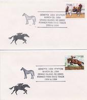 USA - GRAND ISLAND NE - FONNER PARK RACE TRACK  -  EQUITAZIONE FANTINO - Ippica