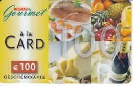 Geschenkkarte Interspar  Gourmet A La Card  Gift - Gift Cards