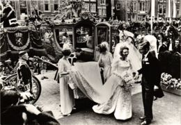 CPM HKH Prinses Beatrix En ZKH Prins Claus DUTCH ROYALTY (820965) - Familles Royales