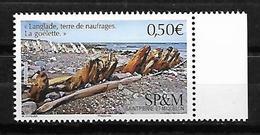 SP & M 2019 - Yv N° 1215 ** - Langlade, Terre De Naufrages - St.Pierre & Miquelon