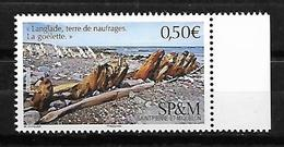 SP & M 2019 - Yv N° 1215 ** - Langlade, Terre De Naufrages - Neufs