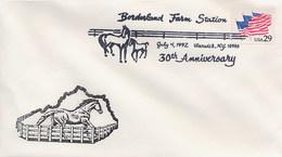 USA - BORDERLAND FARM - WARWICK NY - ALLEVAMENTO CAVALLI - SCUOLA DRESSAGE - Ippica