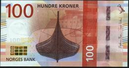 NORWAY - 100 Kroner 2016 UNC P.54 - Noorwegen
