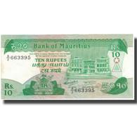 Billet, Mauritius, 10 Rupees, Undated (1985), KM:35b, TTB+ - Mauritius