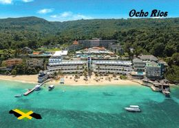 1 AK Jamaica * Blick Auf Hotelanlagen Der Stadt Ocho Rios - Luftbildaufnahme * - Jamaica