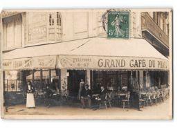 CPA 42 Carte Photo Saint Etienne Grand Café Du Phare 2 Avenue Du President Faure - Saint Etienne