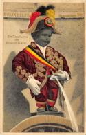 Bruxelles - Manneken-Pis - Carte En Relief Et Dorures - Monumenten, Gebouwen