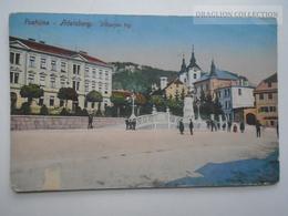 D162779  Slovenia  - Postojna / Postumia / Adelsberg - Vilharjev  Trg  K.u.k  Handstamp - Slovenia