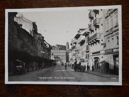 Suisse. Fribourg. Rue De Romont - FR Fribourg