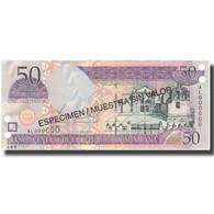 Billet, Dominican Republic, 50 Pesos Oro, 2002, 2002, Specimen, KM:170a, NEUF - Dominicaine