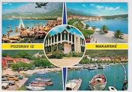 MAKARSKA    POZDRAV  IZ  MAKARSKE          (VIAGGIATA) - Jugoslavia
