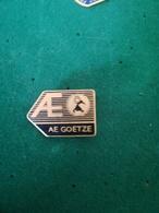 Pin's AE GOETZE / P58 - Badges