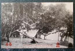 Indochine Phu Doan Scieurs De Long  Cpa - Viêt-Nam
