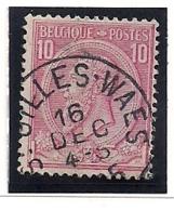 NR46-AFSTEMPELING ST.GILLIS WAES - 1884-1891 Léopold II