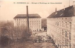 """¤¤  -  JUJURIEUX   -  Ménage Et Moulinage De L'Usine """" BONNET """"  -  ¤¤ - Autres Communes"""