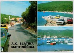 A.C.  SLATINA  MARTINSCICA          (VIAGGIATA) - Jugoslavia
