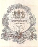 """BRUGGE-BRUGES """" DAVELUY-LITHOGRAPHE DU ROI-HOFLEVERANCIERI"""" 217MM/177MM - Cartes Porcelaine"""