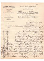 Gap  1902  Cuirs Peaux   MORON ET MARTIN - 1900 – 1949