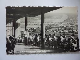 """Cartolina """"WIEN Blick V.d. Kahlensbergestrasse Gegen Donau"""" Anni '50 - Vienna"""