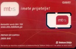 Serbia  GSM SIM Cards, (1pcs,MINT) - Joegoslavië