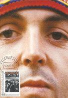 D36340 CARTE MAXIMUM CARD RR 2009 NETHERLANDS - PAUL MCCARTNEY - BEATLES CP ORIGINAL - Cantanti
