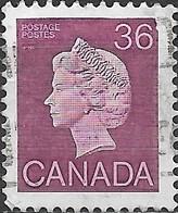 CANADA 1985 Queen Elizabeth II - 36c - Purple FU - 1952-.... Reign Of Elizabeth II