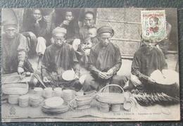 Indochine Vanniers    Cpa Timbrée - Viêt-Nam