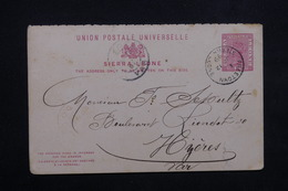 SIERRA LEONE - Entier Postal De Freetown Pour La France En 1999 - L 23571 - Sierra Leone (...-1960)