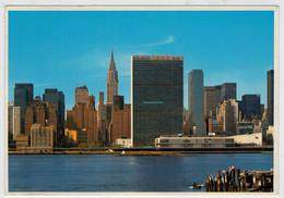 NEW  YORK  CITY  MIDTOWN  MANHATTAM  SKYLINE          (VIAGGIATA) - Manhattan