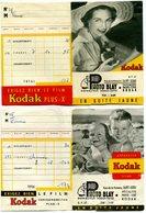 2 Anciennes Pochettes Pour Négatifs Et Photos, Vide - SAINT DENIS DE LA Réunion - Matériel & Accessoires
