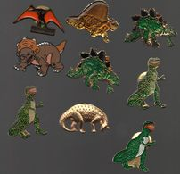 PIN'S DINOSAURES.ANIMAUX PREHISTORIQUE...BT10 - Animals