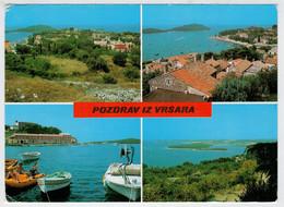 POZDRAV  IZ  VRSARA          (VIAGGIATA) - Jugoslavia