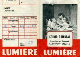 Ancienne Pochette Pour Négatifs Et Photos, Vide - SAINT DENIS DE LA Réunion - Matériel & Accessoires
