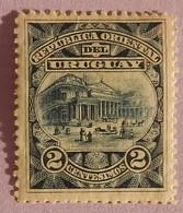 "URUGUAY YT 104 NEUF* "" THEATRE DE SOLIS"" ANNEE 1895/1896 - Uruguay"