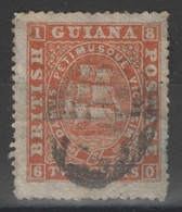 Guyane Britannique - British Guiana - YT 16 Oblitéré - British Guiana (...-1966)
