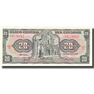 Billet, Équateur, 20 Sucres, 1988, 1988-11-22, KM:121Aa, SPL - Ecuador