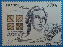 France 2016 : 240e Anniversaire De La Naissance De Sophie Germain, Mathématicienne Et Philosophe N° 5036 Oblitéré - France