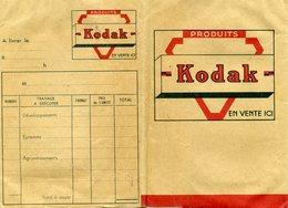 Ancienne Pochette Pour Négatifs Et Photos, Vide - KODAK - Matériel & Accessoires