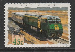 Australia 1993 Popular Trains 45 C Red  SW 1356 O Used - Used Stamps