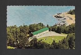 NEW MILLS - NEW BRUNSWICK - BONAVENTURE MOTEL & CABINS - PROP. CHARLES ROUTHIER - BY CONTINENTAL AIR PHOTO - Nouveau-Brunswick
