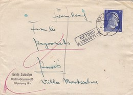 Brief Aus Berlin Nach Paris 1941 - Allemagne