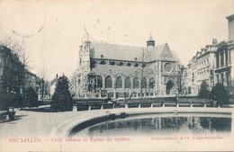 CPA - Belgique - Bruxelles - Petit Sablon Et Eglise Du Sablon - Places, Squares