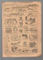 (Paris) (jouets) étrennes- Jouets AUX TROIS QUARTIERS (PPP10203) - Advertising