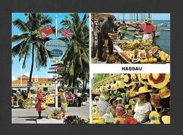 NASSAU - BAHAMAS - MARKET  LE MARCHÉ BAHAMA ISLANDS - MULTIVIEWS - PHOTO E. LUDWIG  BY JOHN HINDE STUDIO - Bahamas