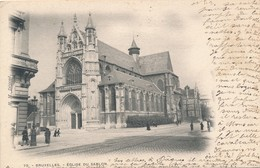 CPA - Belgique - Bruxelles - Eglise Du Sablon - Places, Squares