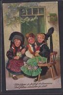 B32 /   Patriotika Elsass Lothringen , Saar 1914 - Trachten