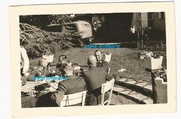 WW2 PHOTO ORIGINALE Soldats Allemands Château à LAVAL Ou Proche 53 MAYENNE 1943 N°3 - 1939-45