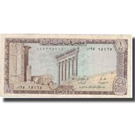 Billet, Lebanon, 1 Livre, 1974, 1974, KM:61b, TTB+ - Liban