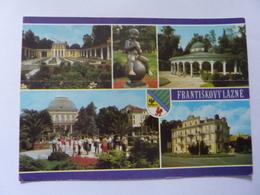 "Cartolina Viaggiata ""FRANTISKOVY LAZNE"" 1987 - Repubblica Ceca"