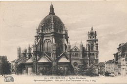CPA - Belgique - Bruxelles - Eglise Ste-Marie - Monumenten, Gebouwen
